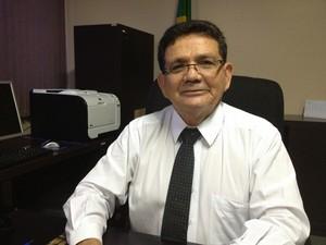 Desembargador Luiz Carlos diz que mesmo julgados, é difícil saber se algum réu punido com prisão está na cadeia (Foto: Abinoan Santiago/G1)