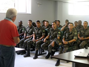 Exército em Viçosa  (Foto: Prefeitura de Viçosa/Divulgação)
