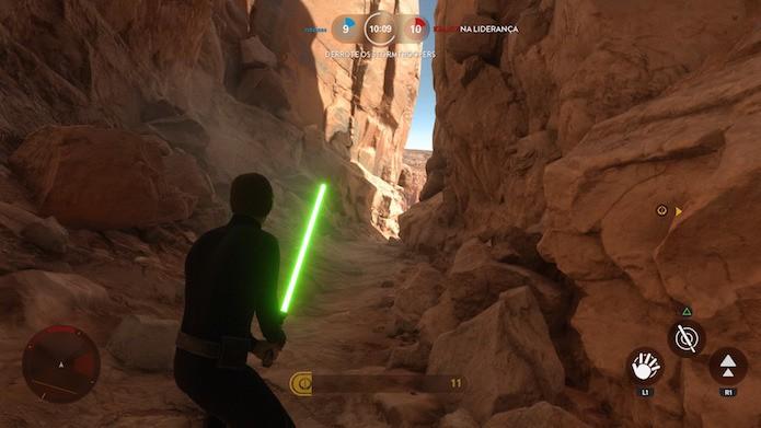 Como jogar o modo Caça ao Herói em Star Wars: Battlefront (Foto: Reprodução/Victor Teixeira)