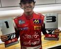 Pietro Fittipaldi conquista seu 1º pódio, na última prova do ano na Fórmula V8