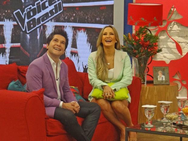 Claudia Leitte avalia The Voice Brasil como o melhor da categoria (Foto: Mais Você / TV Globo)