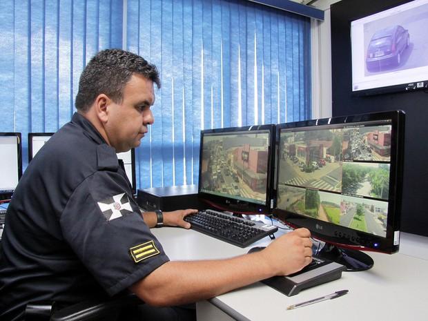 Sistema de videomonitoramento de Nova Odessa (Foto: Osnei Réstio/Prefeitura de Nova Odessa)