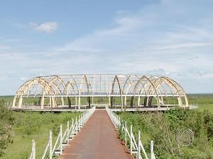 Memorial Marechal Cândido Rondon, em Mato Grosso. (Foto: Reprodução/TVCA)
