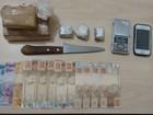 Cinco pessoas são detidas e droga apreendida em Uberlândia