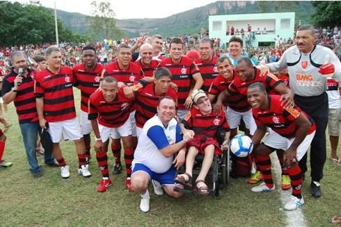 Time máster do Flamengo (Foto: Reprodução, Flamengo Máster)