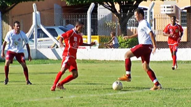 Futebol amador em Campo Grande (Foto: Reprodução/TV Morena)