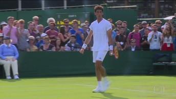 Teliana Pereira e Rogerinho perdem em Wimbledon, mas Bellucci segue na competição