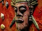 Exposição 'Sacrodélico' une telas de santos e deuses com arte psicodélica
