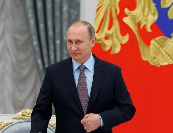 O presidente da Rúsia,Vladimir Putin.Ele é o maior beneficiário confusão política nos EUA (Foto: Reuters)