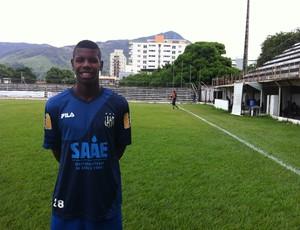 O atacante Darlán tem 18 anos e vem das categorias de base do Fluminense (Foto: Diego Souza/Globoesporte.com)