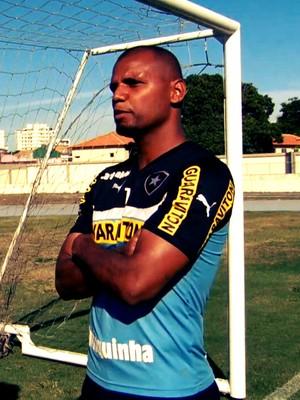 Jefferson concedeu entrevista ao Esporte Espetacular (Foto: Reprodução TV Globo)