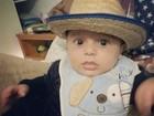 Filho de Jaque Khury se veste de caipira: 'Fazer inveja no Chico Bento'