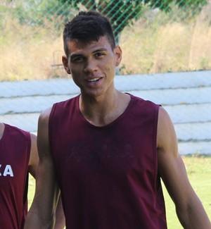 Thiago Dias e Rhuann (Foto: Abdias Bideh/GloboEsporte.com)