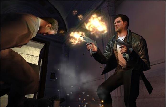 Max Payne possui saltos espetaculares e muita ação (Foto: Reprodução)