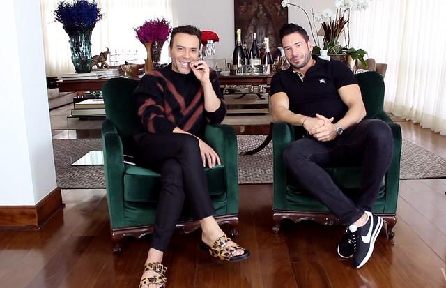 Matheus Mazzafera e Rodrigo Sangion (Foto: reprodução)