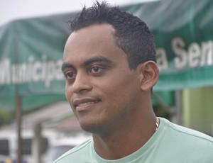 Heverton Perereca goleiro em Mato Grosso (Foto: Robson Boamorte/GLOBOESPORTE.COM)