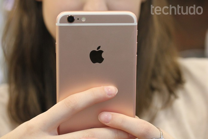 iPhone 6S é o atual top de linha da Apple (Foto: Lucas Mendes/TechTudo)