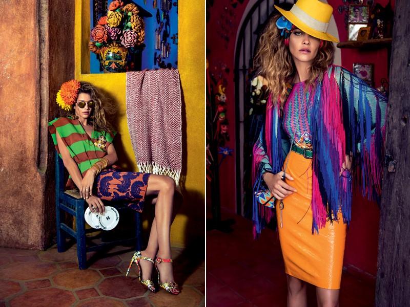 O mix de cores é que vai dar o toque especial ao look do verão (Foto: Eduardo Rezende - Edição de moda: Larissa Lucchese)
