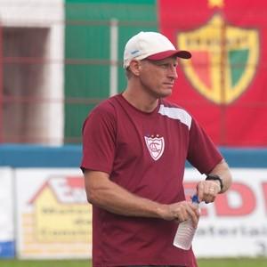 Sílvio Criciúma atlético-ib (Foto: Orlando Pereira / Divulgação Atlético-IB)