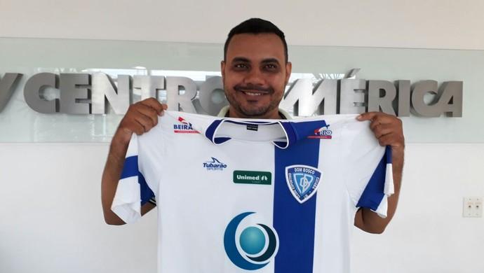 Thiago Dorileo levou a camisa do Dom Bosco (Foto: Divulgação/TVCA)