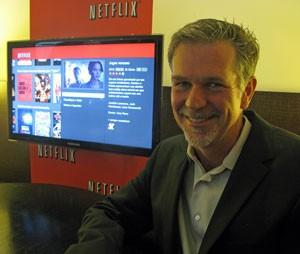 Reed Hastings, presidente do Netflix, quer melhorar o conteúdo do serviço no Brasil (Foto: Gustavo Petró/G1)