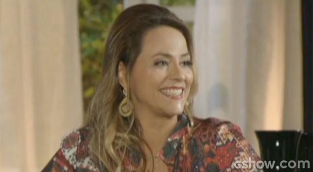 Shirley tem um novo plano contra Helena (Foto: Em Família/TV Globo)