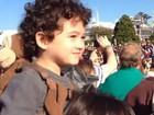 Daniele Suzuki se diverte com o filho em viagem à Disney