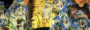 Rosas de Ouro, Vila Maria e Gaviões são destaques no 1º dia (Carolina Dantas/G1)