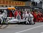 Pane no sistema de refrigeração do motor provocou abandono de Massa