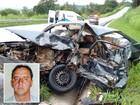 Vendedor morre em batida de frente entre carro e caminhonete na MG-050