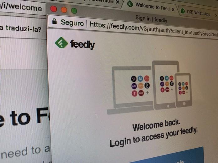 Tutorial mostra como usar o agregador de notícias Feedly no computador (Foto: Marvin Costa/TechTudo)