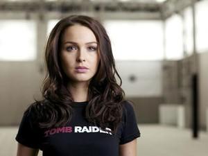 'Tomb Raider' tem atriz bitânica Camilla Luddington como a voz de Lara Corft (Foto: Divulgação)