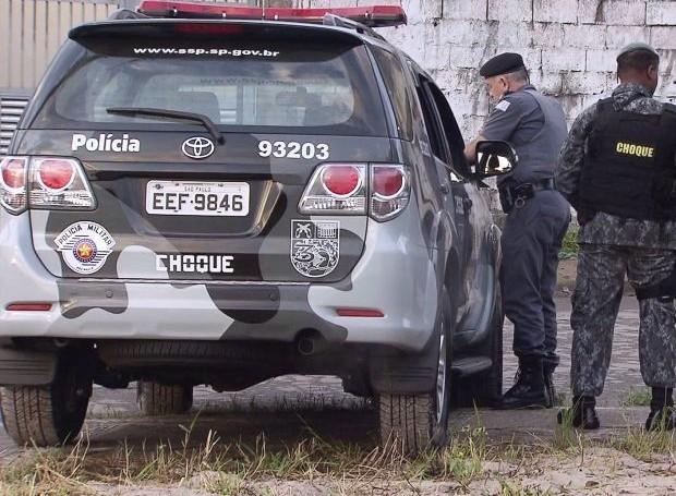 Polícia Militar realizou operação de combate ao crime organizado  (Foto: Reprodução/TV Tribuna)