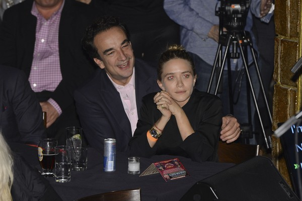 Mary-Kate Olsen e Olivier Sarkozy (Foto: Getty Images)