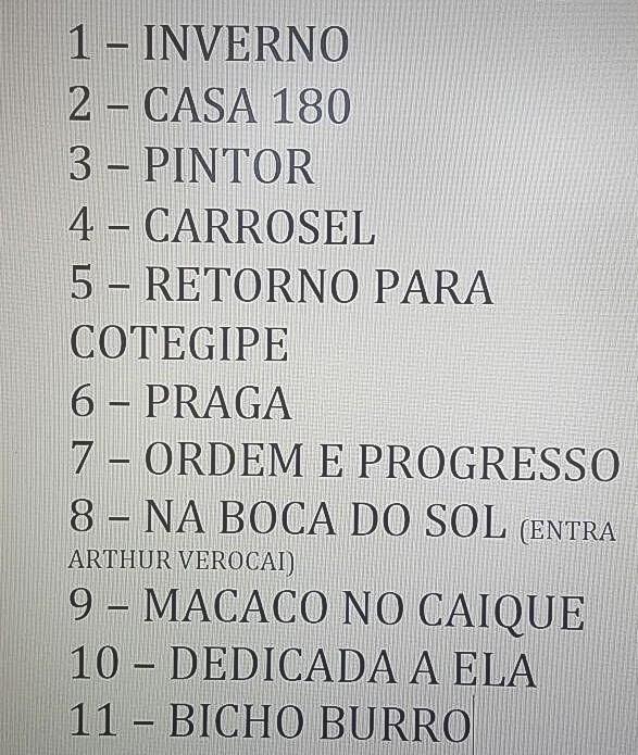 Setlist Dnica Rock in Rio 2015 (Foto: Multishow)