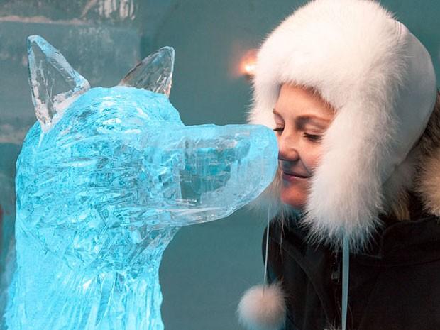 Hotel de gelo na Noruega (Foto: Divulgação)