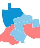 Apuração por zona eleitoral em RO (Arte/G1)