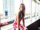 Solteira, Fiorella Mattheis compartilha foto na Argentina e mostra boa forma