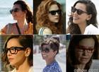 Anote os modelos de óculos das personagesn e escolha o seu (Foto: Em Familia/TVGlobo)