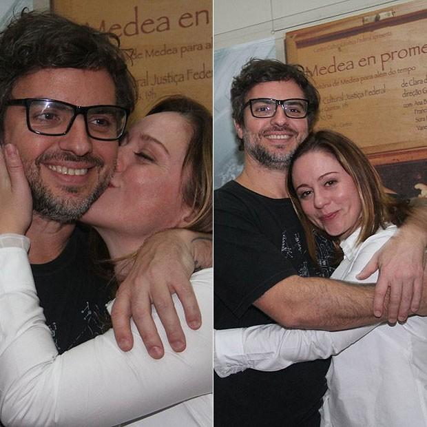Guta Stresser e namorado, André Nervoso (Foto: Onofre Veras/AgNews)