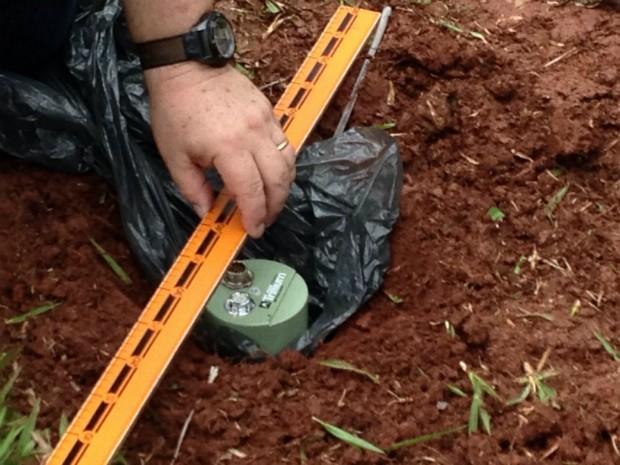 Ao todo, serão instalados quatro sismógrafos em Londrina (Foto: Marcelo Bonomini/RPC)