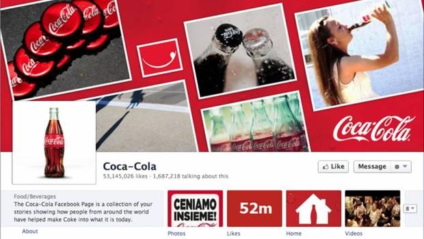 Facebook: Coca-Cola (Foto: reprodução / internet)