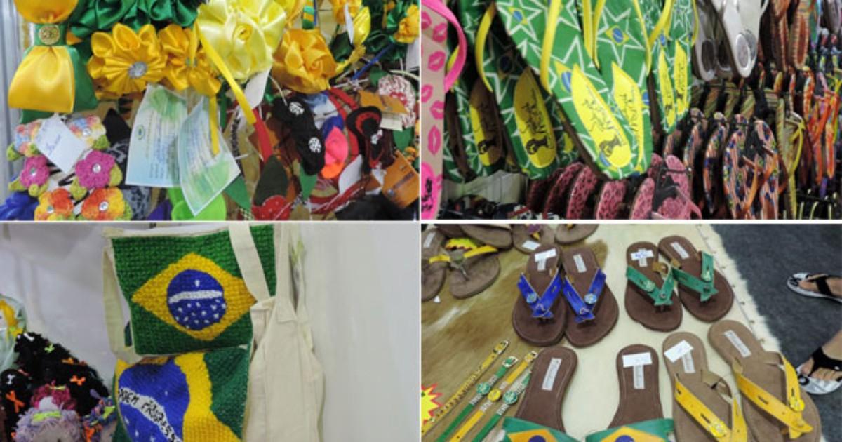 De enfeite de cabelo a sandália, Fenearte tem 'looks' para a Copa - Globo.com