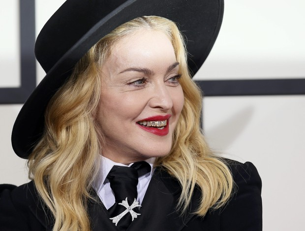 Madonna no Grammy Awards (Foto: Reuters)