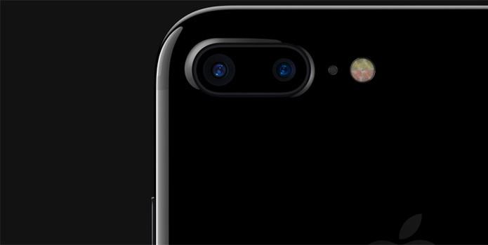 O iPhone 7 Plus tem dois conjuntos de lente (Foto: Reprodução/site da Apple) (Foto: O iPhone 7 Plus tem dois conjuntos de lente (Foto: Reprodução/site da Apple))