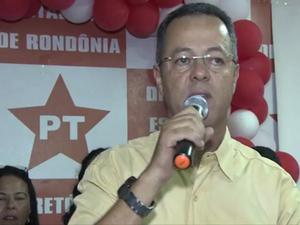 Roberto Sobrinho será candidato à Prefeitura de Porto Velho (Foto: Matheus Henrique/G1)