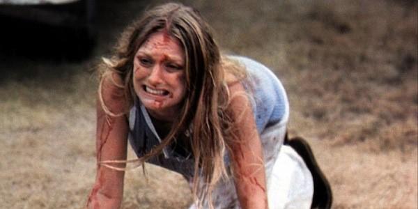 Marilyn Burns em 'O Massacre da Serra Elétrica' (1974) (Foto: Divulgação)