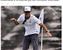 """Corinthians homenageia Mineirinho: """"Fiel dominou o mundo do surfe"""""""