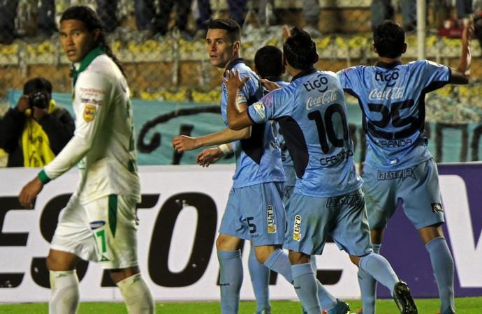 Bolívar 1 x 1 León, Libertadores (Foto: EFE)