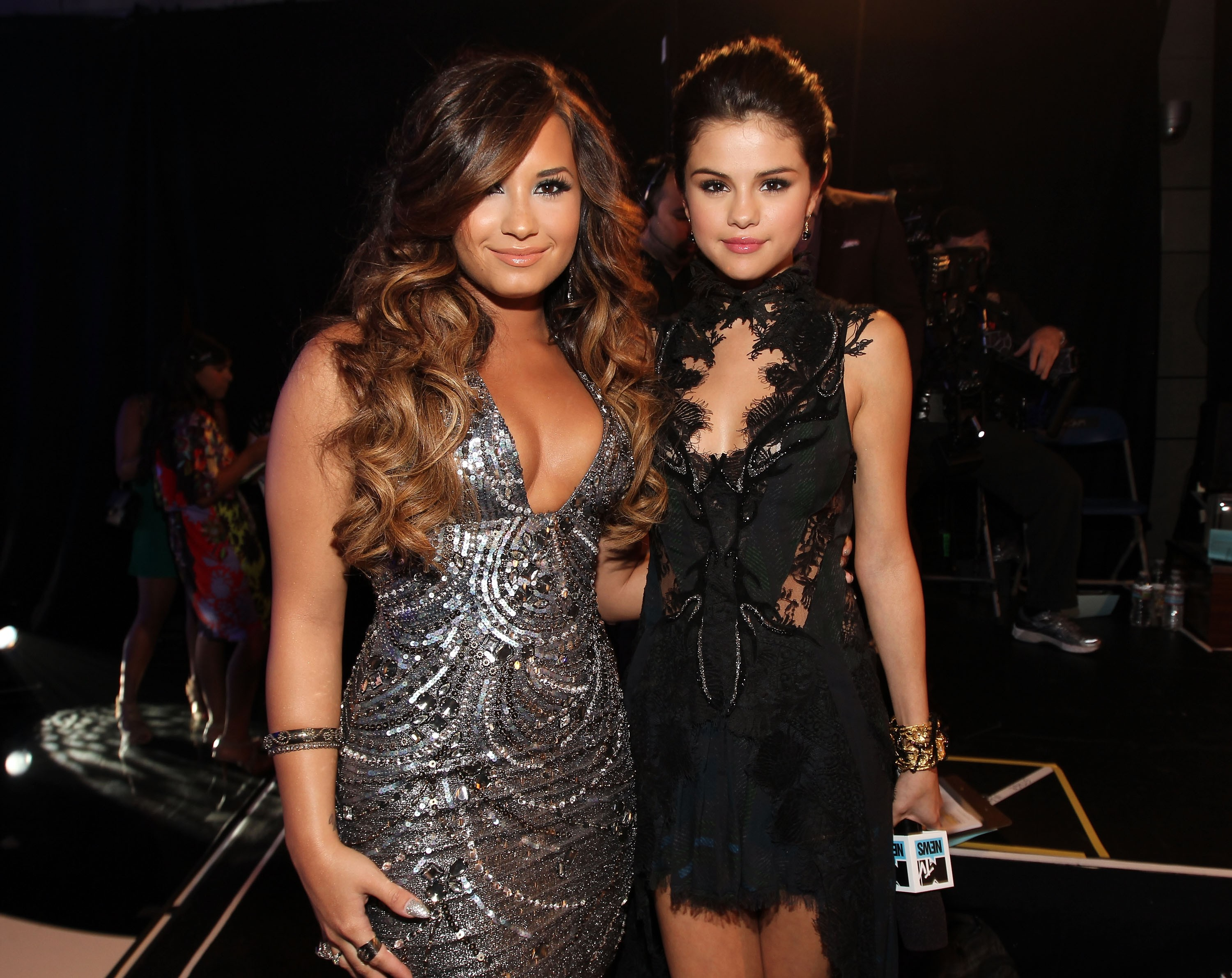 Demi Lovato e Selena Gomez (Foto: Getty Images)